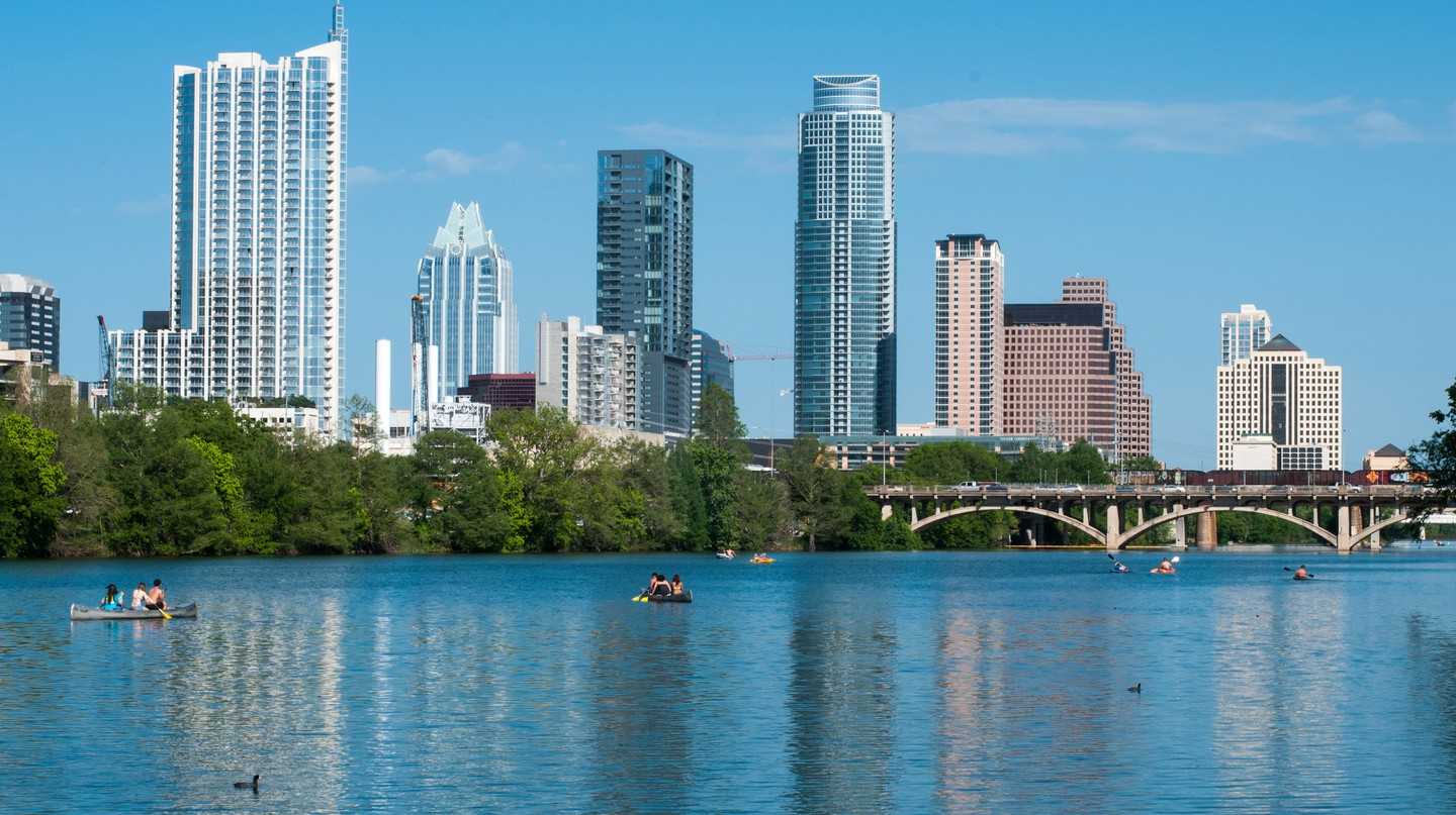 Lou Neff Point is one of Austin's most scenic spots