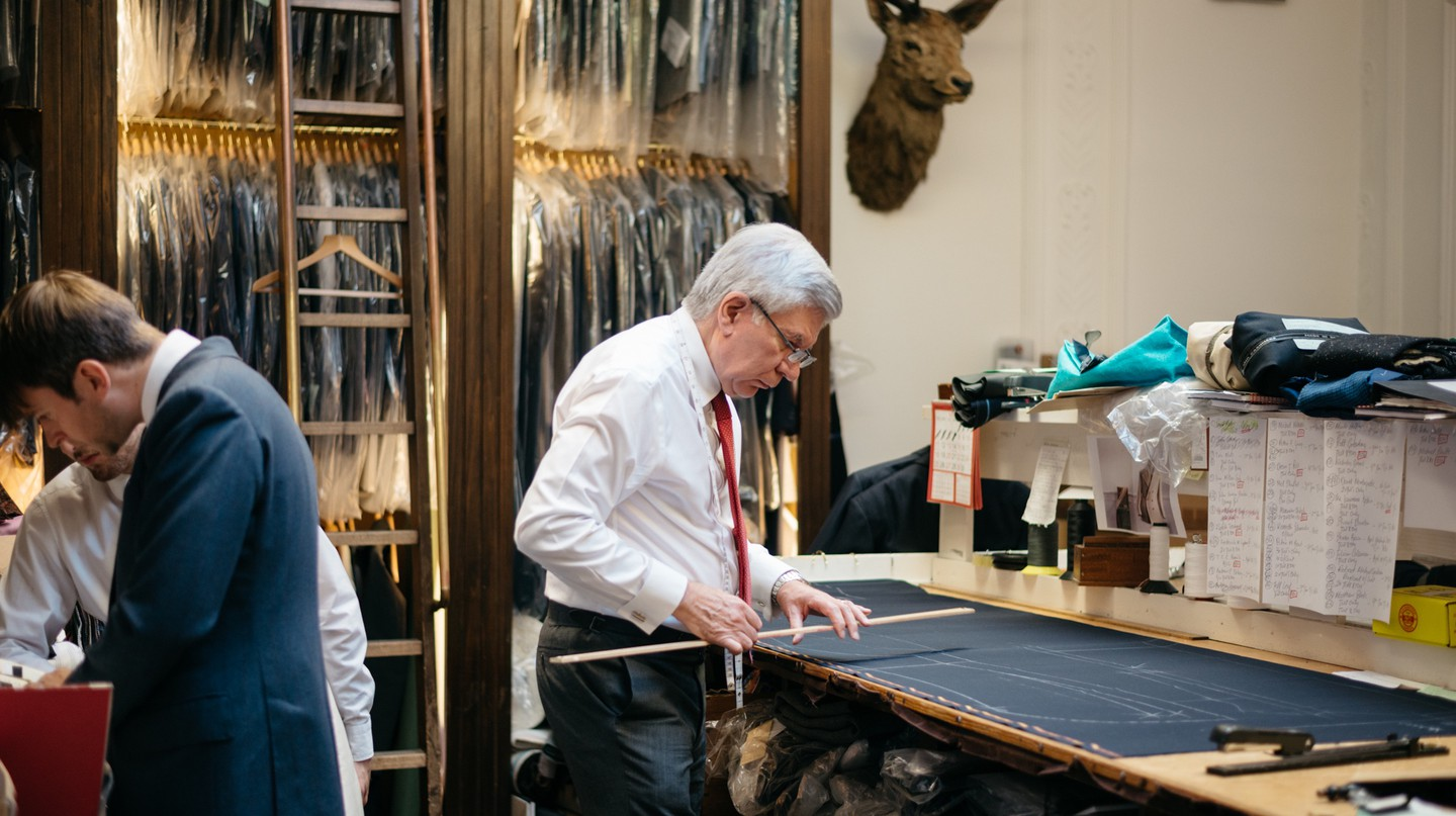 Savile Row is the undisputed home of British tailoring