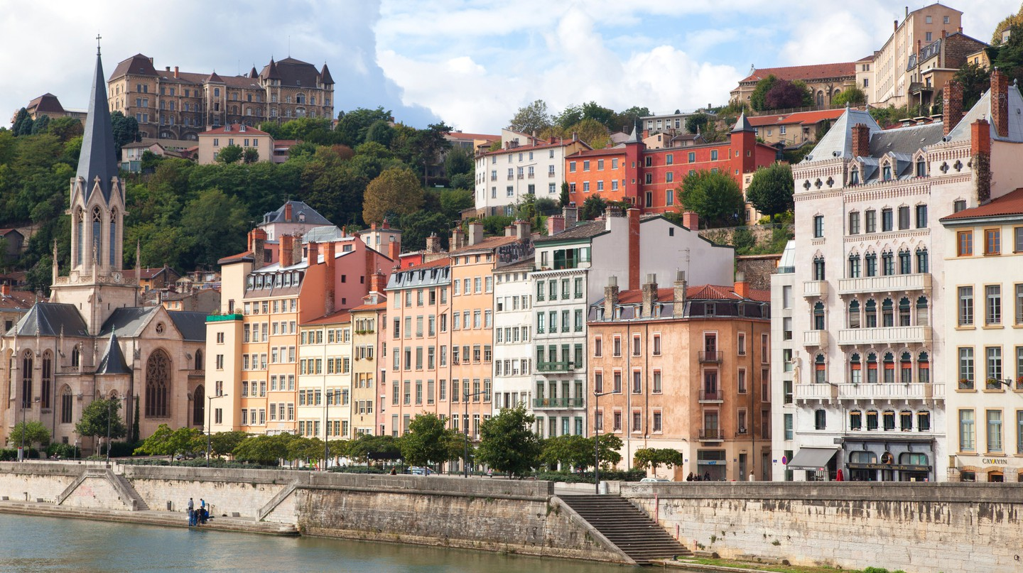The French city of Lyon is in the Auvergne-Rhône-Alpes region