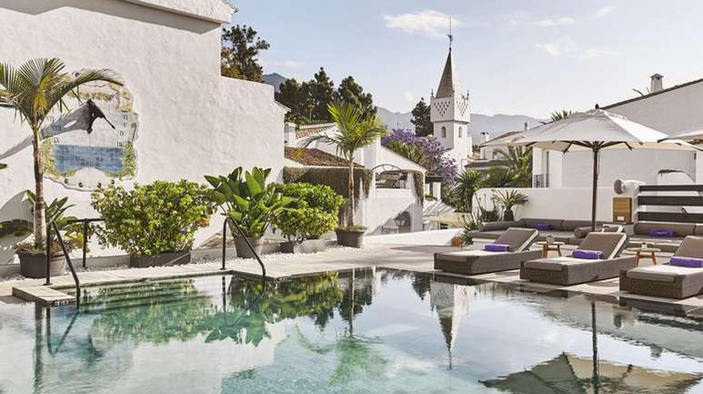 The Hotel Nobu Marbella is a stylish luxury hotel