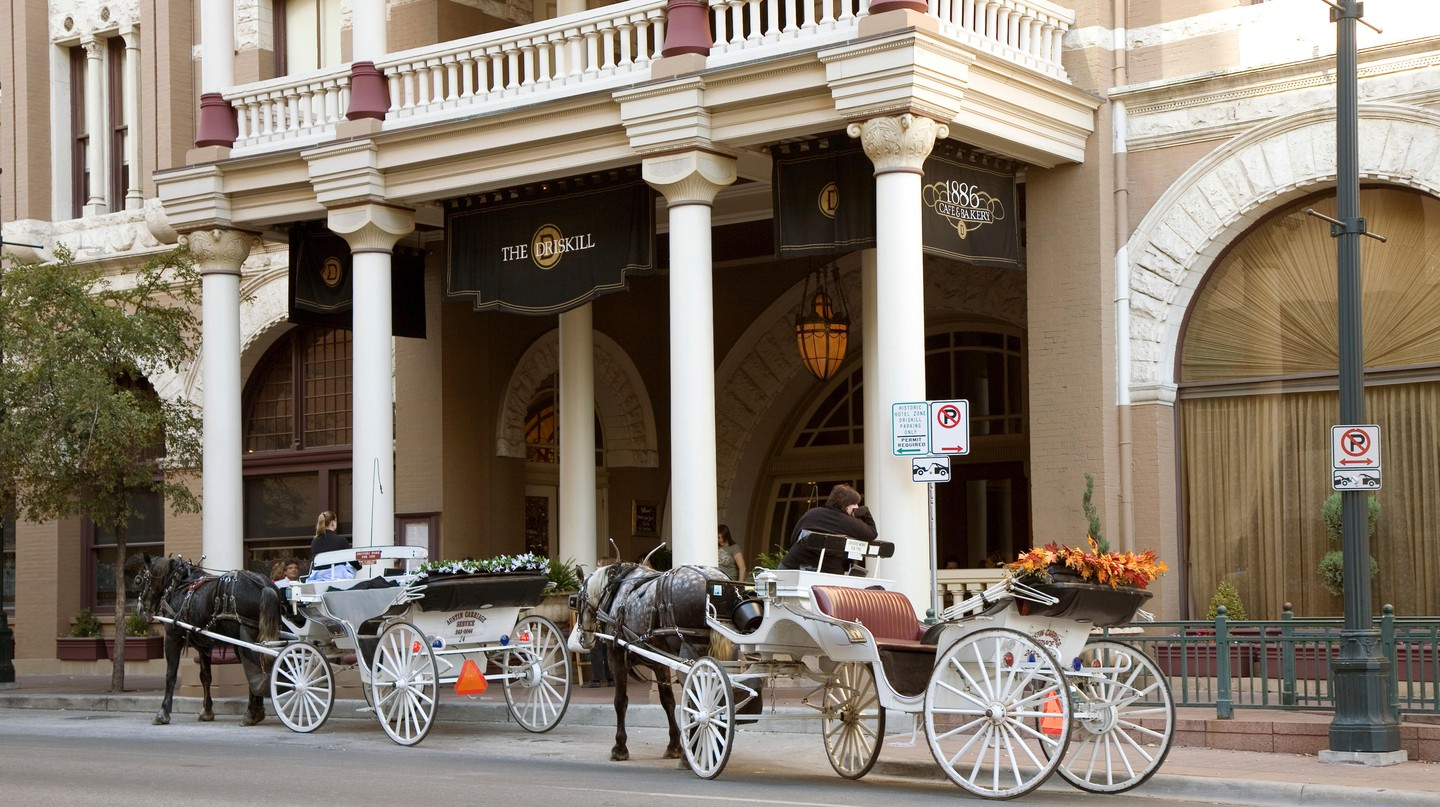 The Driskill is the oldest operating hotel in Austin