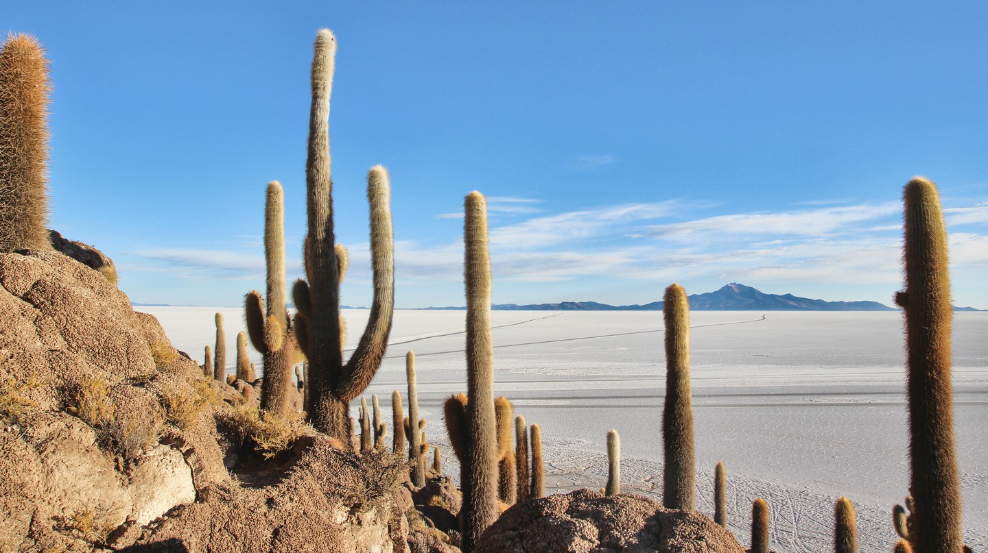 Salar de Uyuni in Bolivia is on many people's bucket list