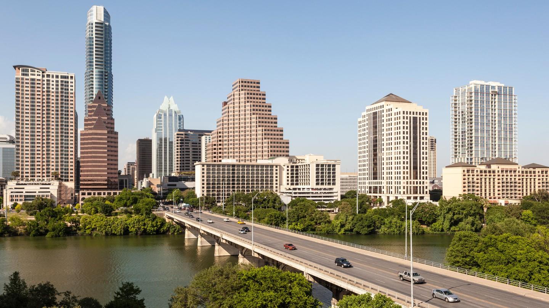 View of Downtown Austin's skyline