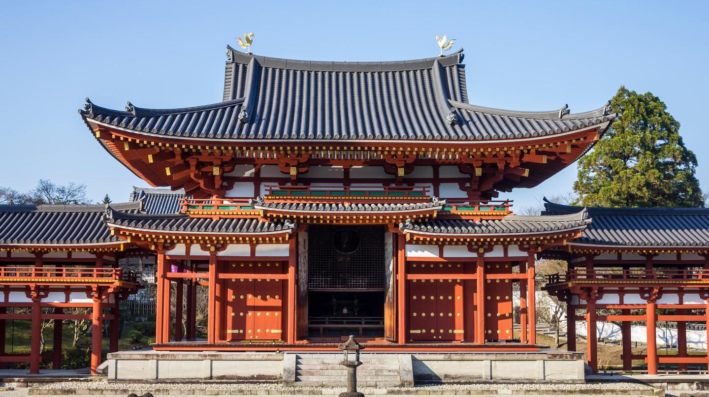 Byodoin temple in Kyoto, Japan.