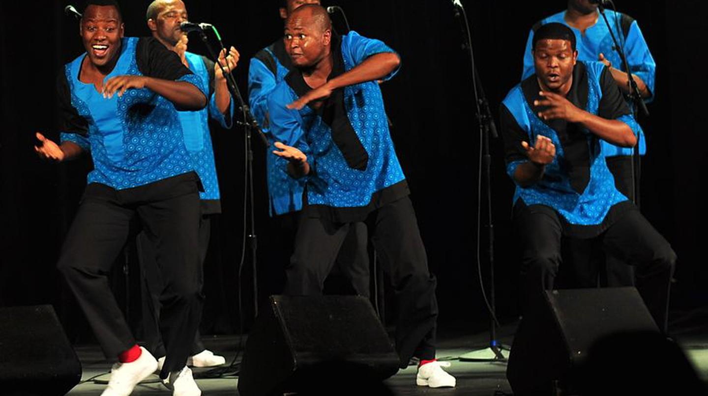 Ladysmith Black Mambazo performing in the USA