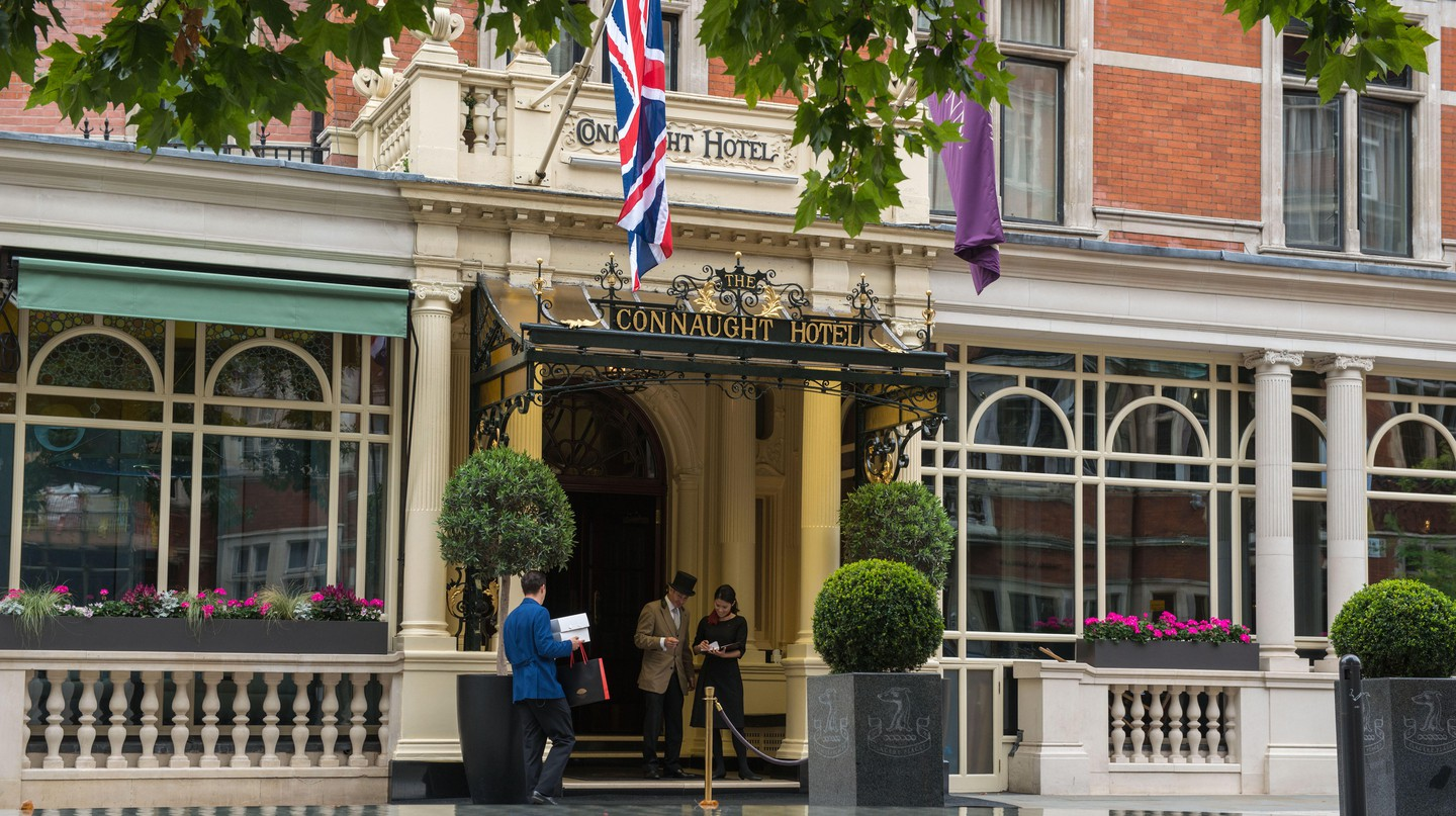 The Connaught hotel, Mayfair, London