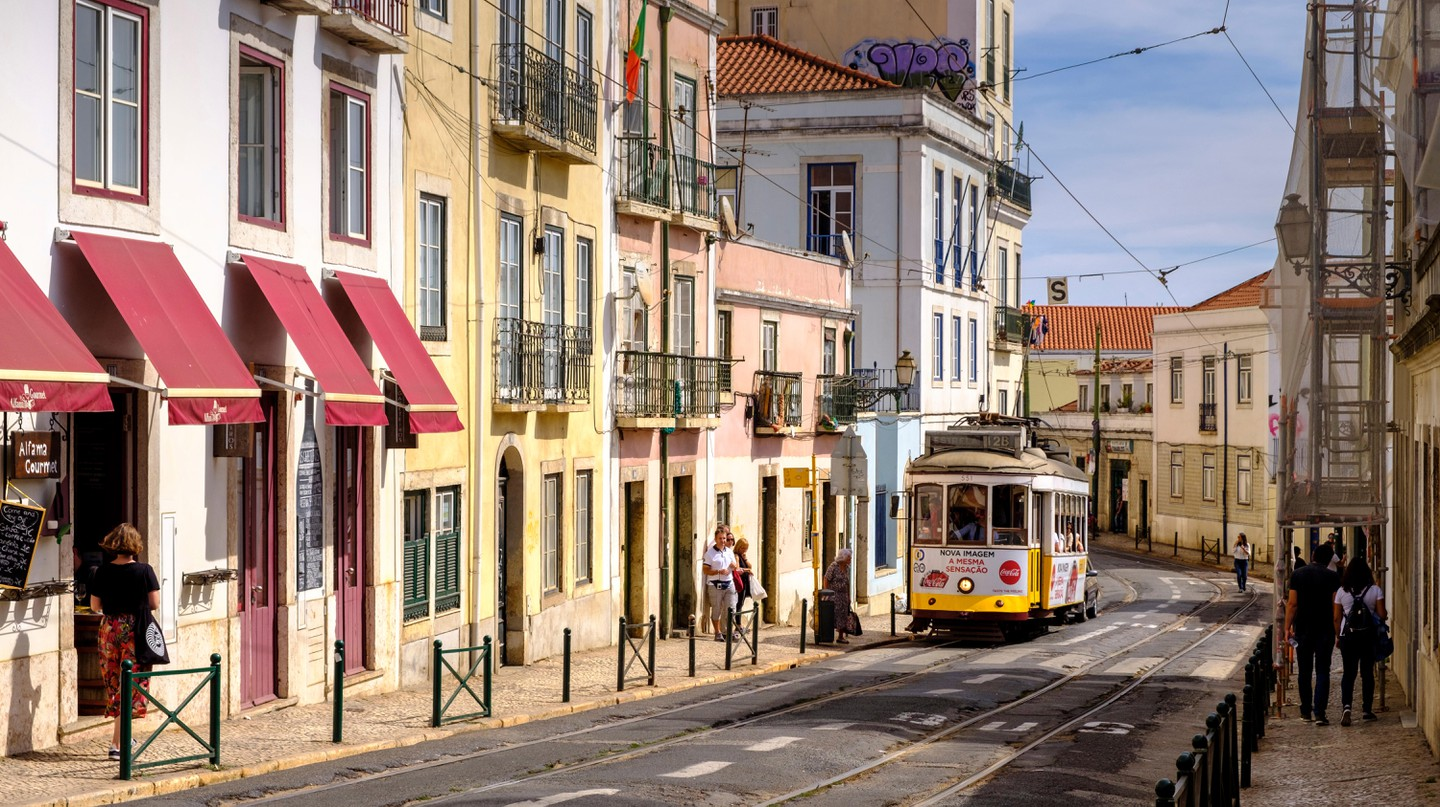 Charming Alfama is the oldest district in Lisbon