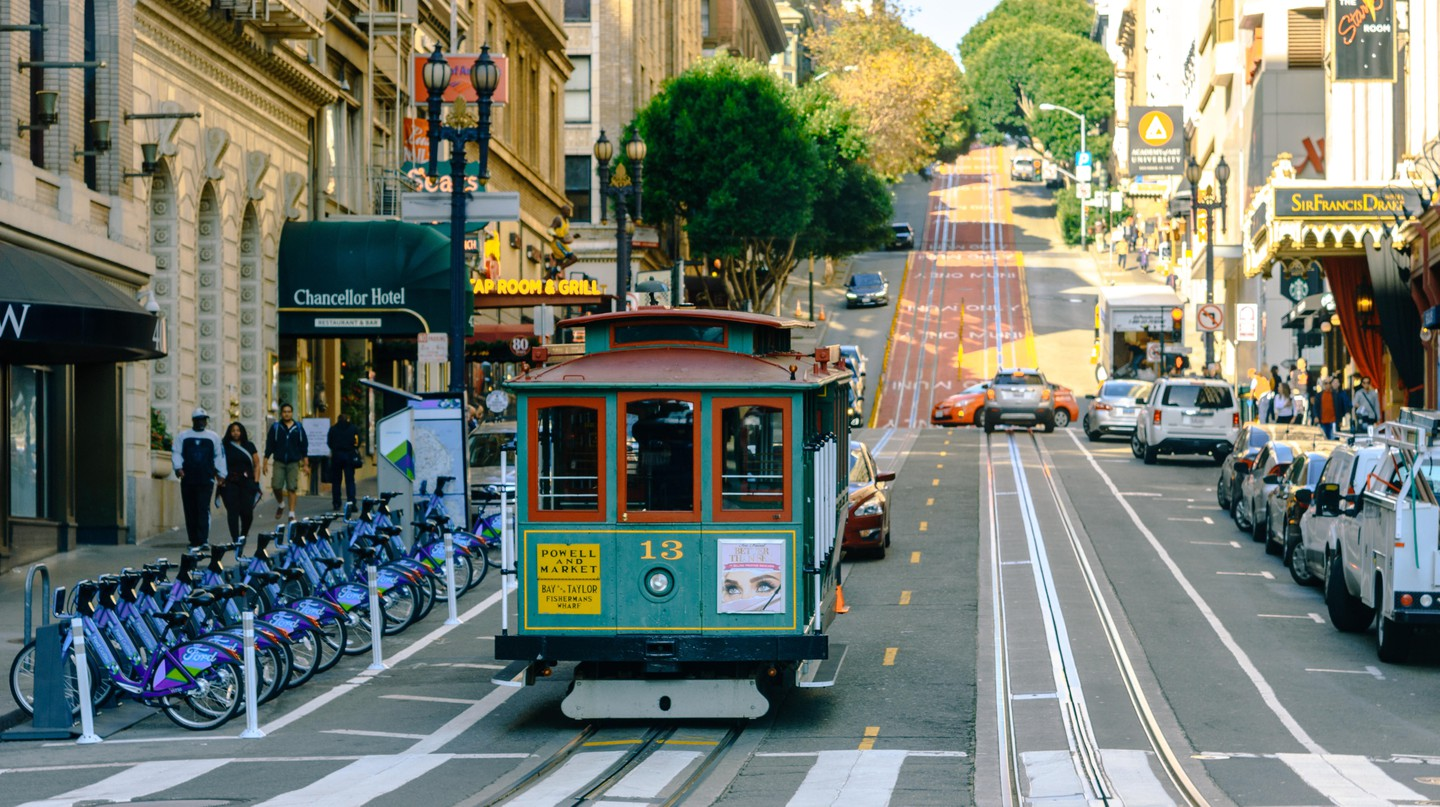 San Francisco has its own cable car system