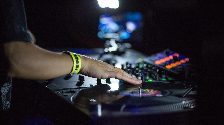 DJ Kentaro, Anchorsong, DJ Cheeba, DJ Woody and DJ Irk performing at XOYO   Photo by Tim Fergson/REX/Shutterstock