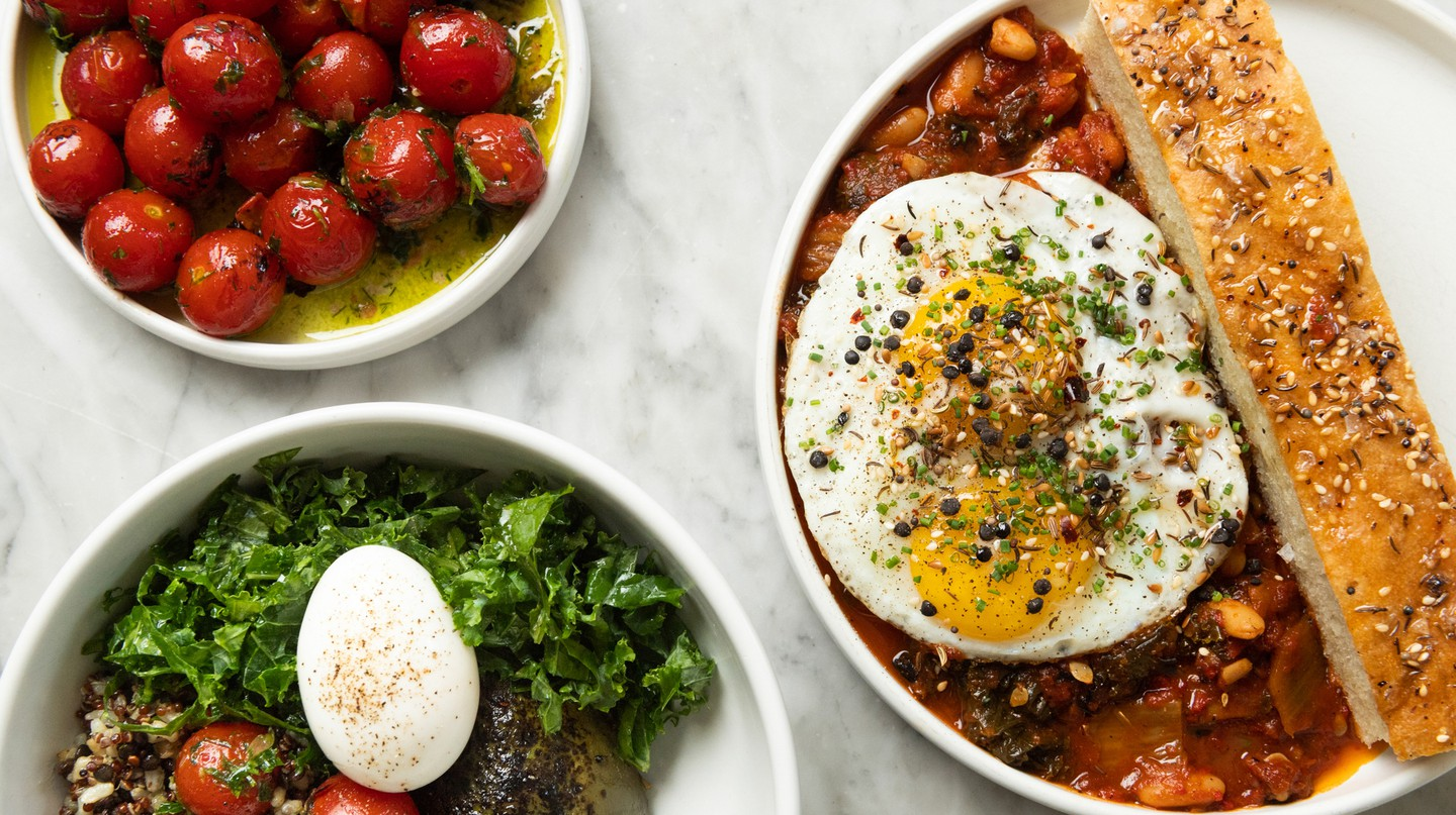 Sunday in Brooklyn's brunch menu offers many savory options.