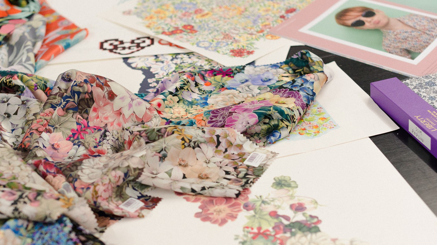 Liberty has made a name for itself with bold, floral prints