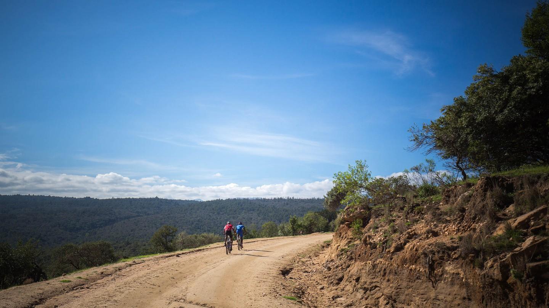 Riders during the Mount Kenya Epik Cycling Challenge in Laikipia, Kenya
