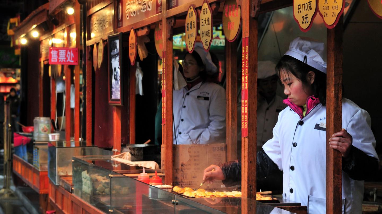 Shanghai offers an abundance of delicious street food