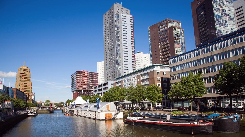 Architecture in Wijnhaven, Rotterdam, the Netherlands