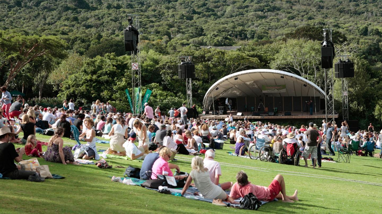 Summer Concert, Kirstenbosch, Cape Town