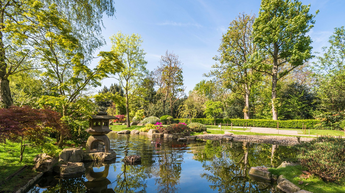Kyoto Garden is a great place to retreat from the noise of the city