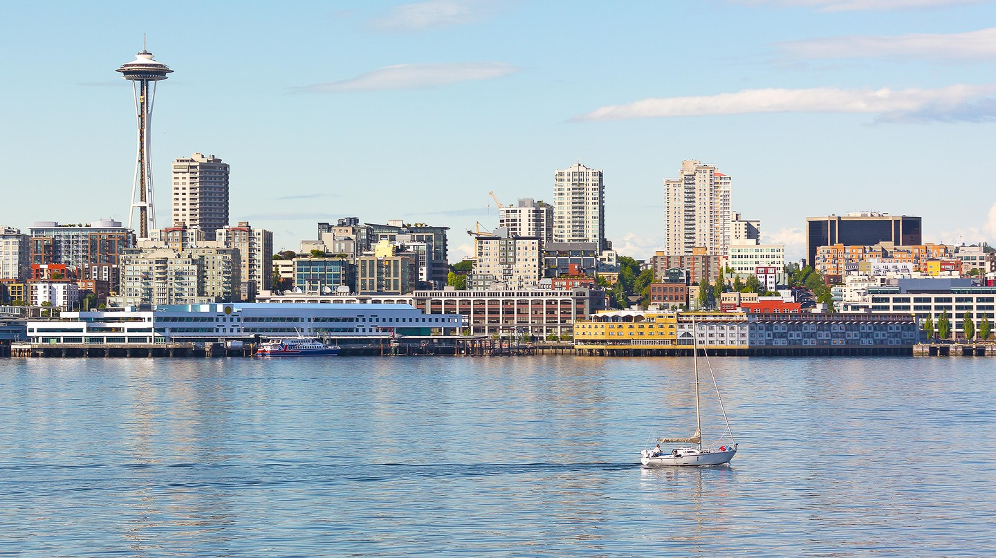 Seattle is a waterfront city