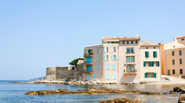 Despite its glamorous reputation, St Tropez remains an authentic village