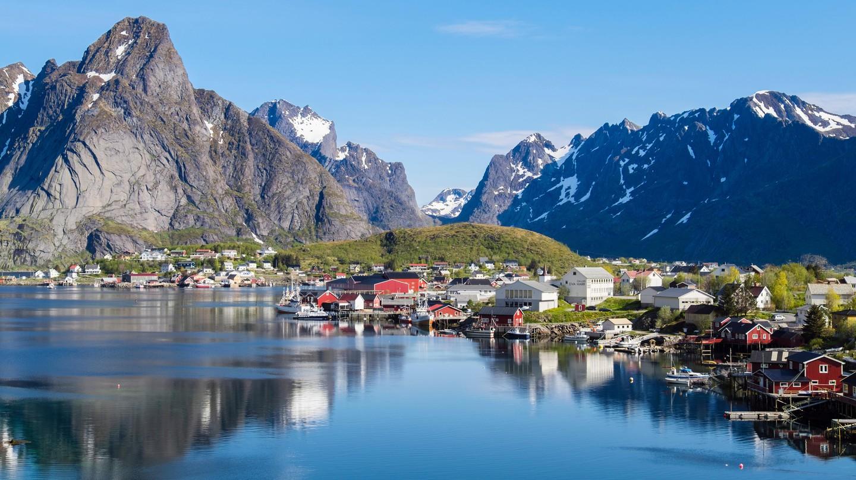 Reine on the Norwegian island of Moskenesøya