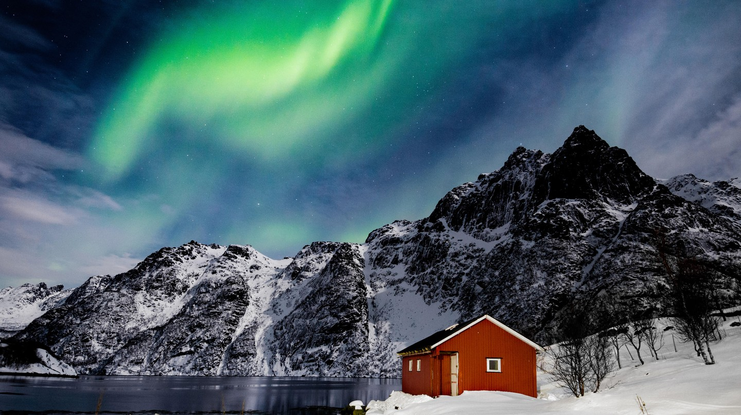 Lofoten, Norway, is just one place where you can see the aurora borealis