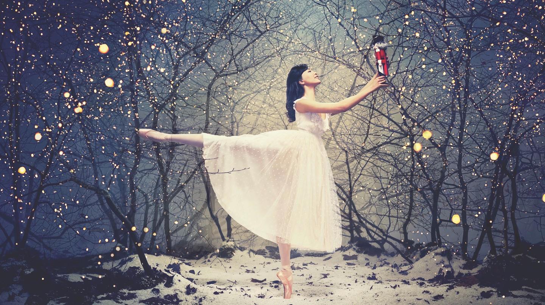 Shiori Kase as Clara in the English National Ballet's 'Nutcracker'