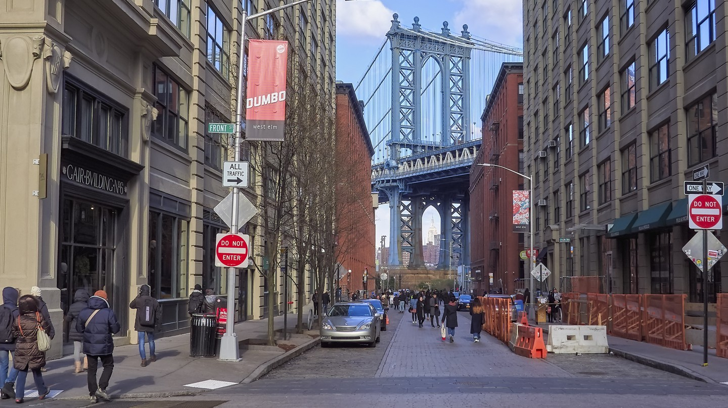 Dumbo in Brooklyn is home to a number of shops and cafés