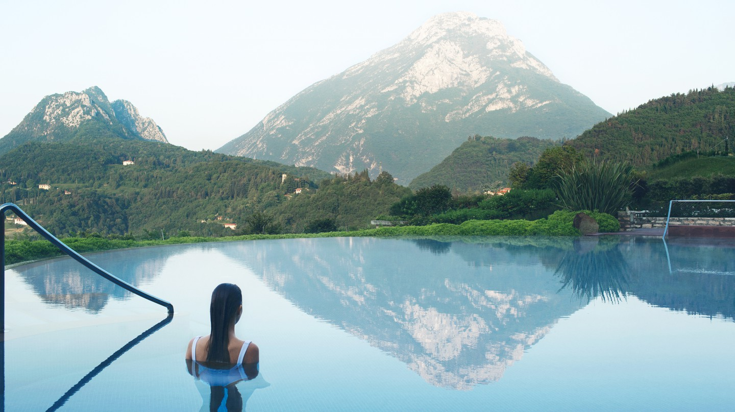 The Lefay Resort and Spa Lago Di Garda conjures thoughts of the sublime