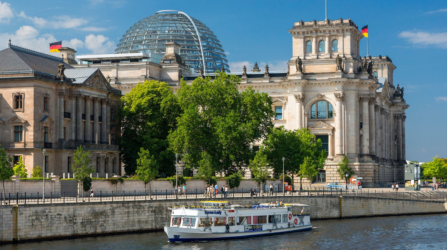 One of the best ways to get to know Berlin is by jumping on a tour boat and sailing down the river Spree