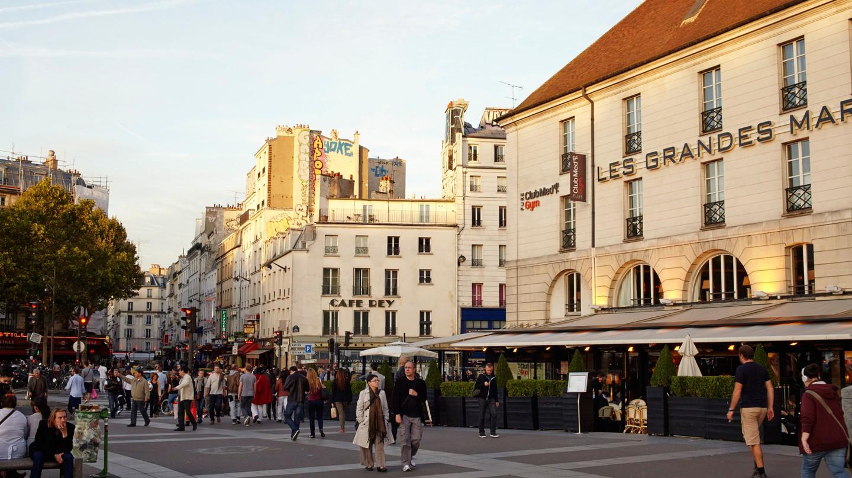Bastille is a bustling, dynamic neighbourhood of Paris