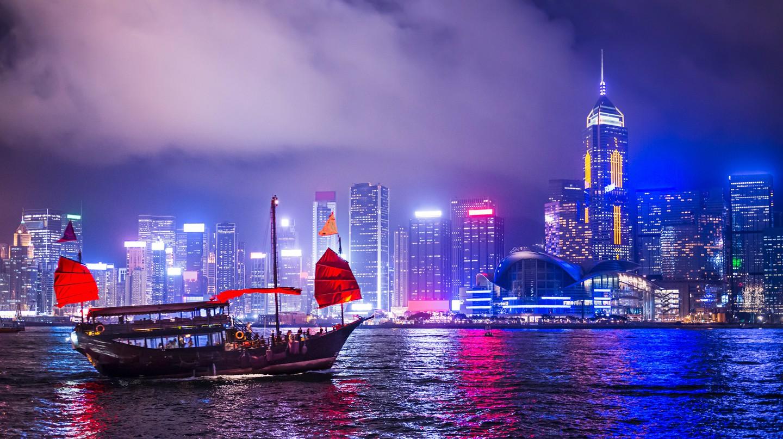 Victoria Harbor, Hong Kong.