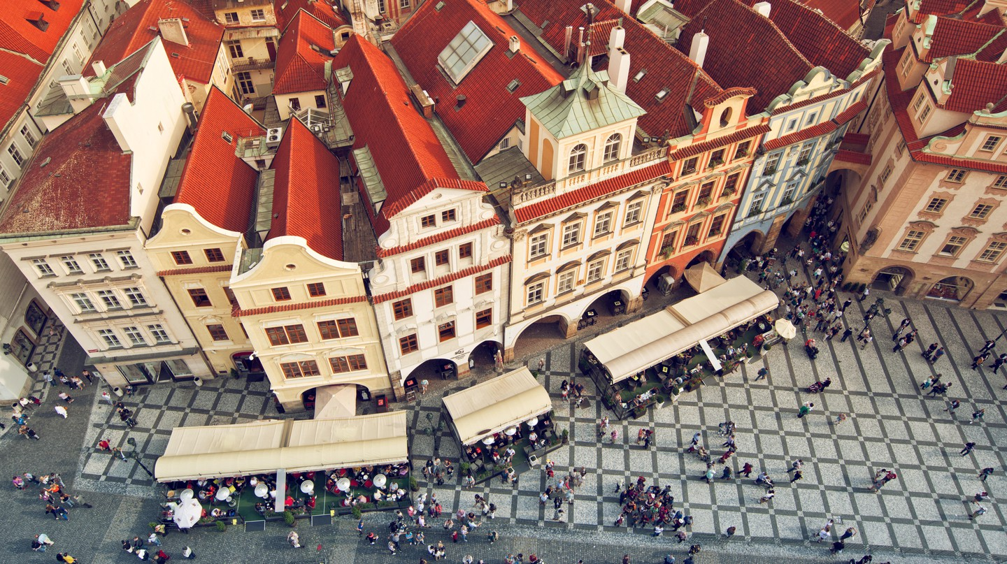 Prague's rooftops are what makes the city's skyline so distinct