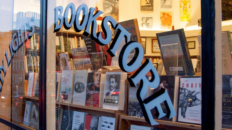 City Lights Bookstore in North Beach, San Francisco, California