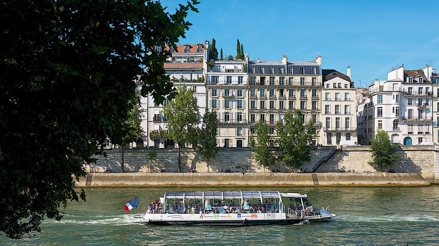 Why not take a Seine river cruise in Paris?