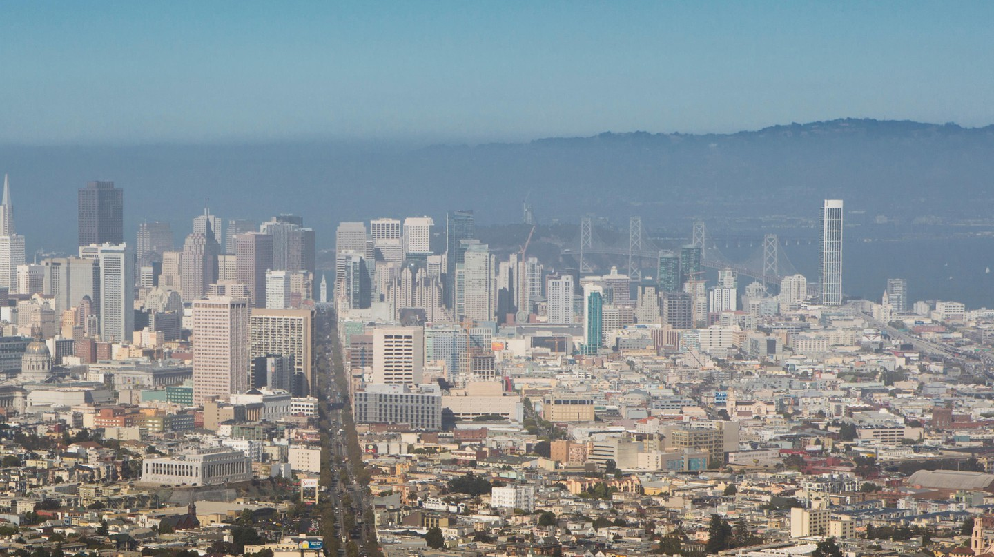 View of the Mission District, San Francisco
