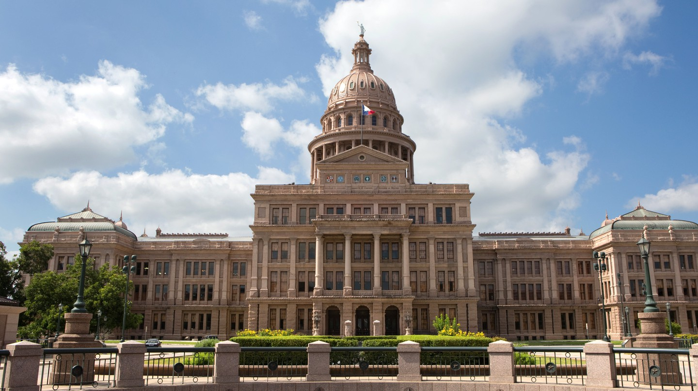The Texas State Capitol was built in the 1880s