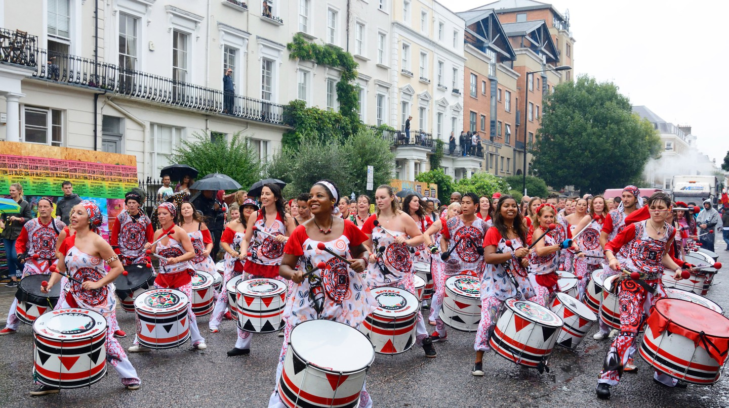 Carnival Drummers, Notting Hill