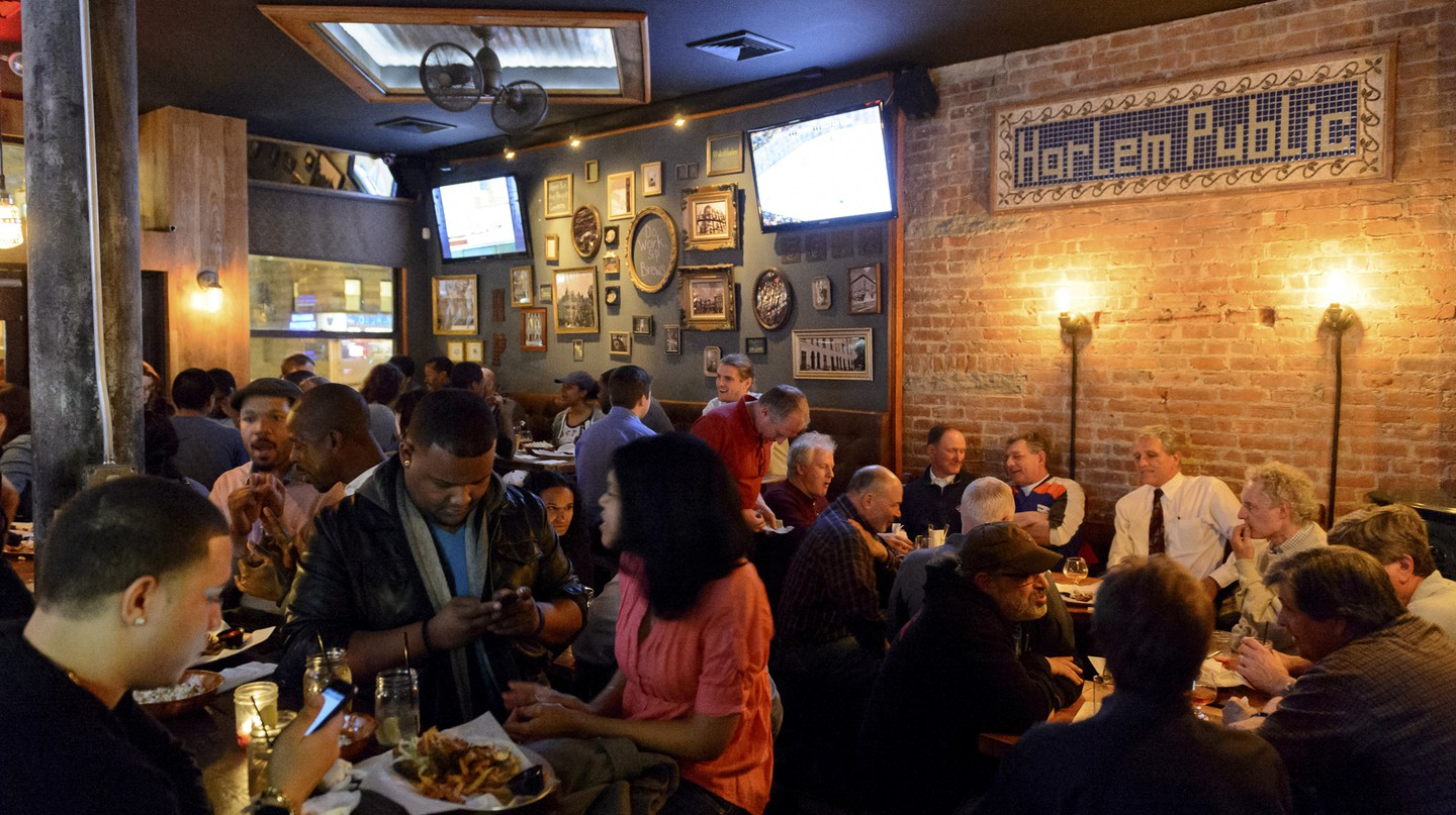 Harlem Public is renowned for its chicken wings