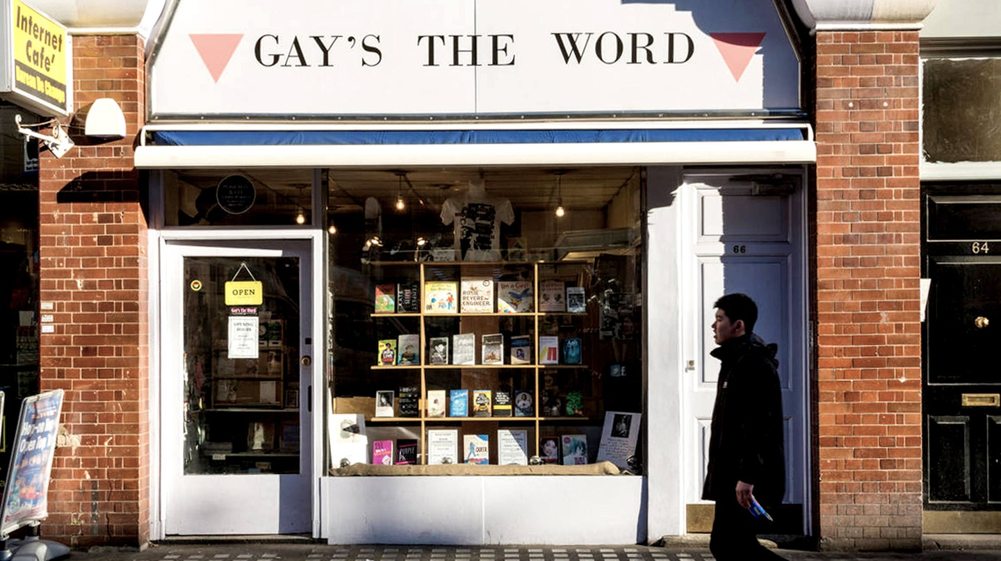 Gay's the Word, London's only lesbian and gay bookshop, on Marchmont Street