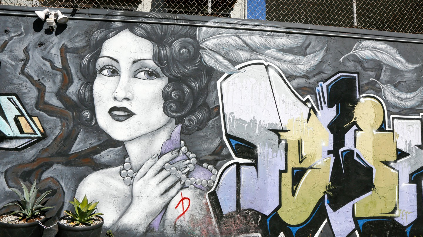 Street art, Mission District, San Francisco