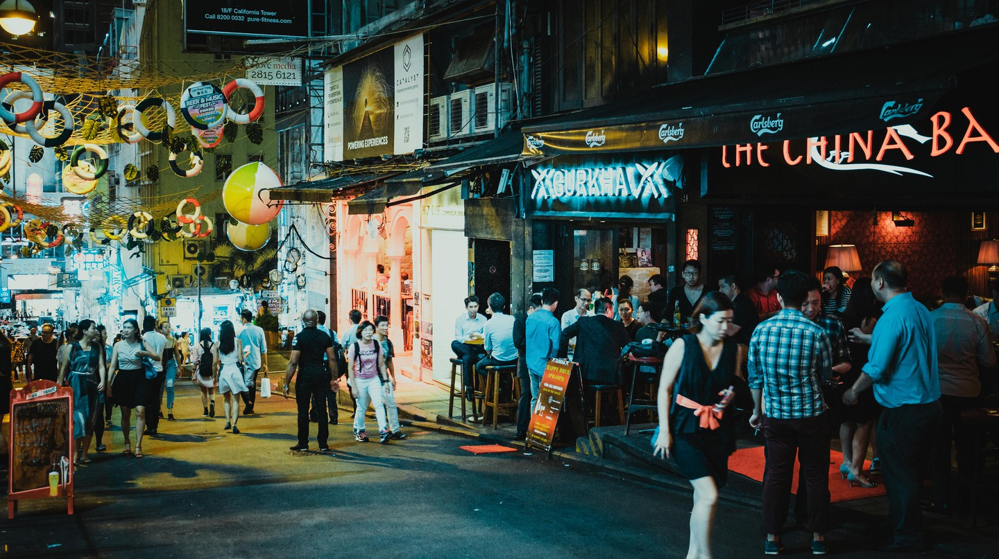 Lan Kwai Fong, Hong Kong, China