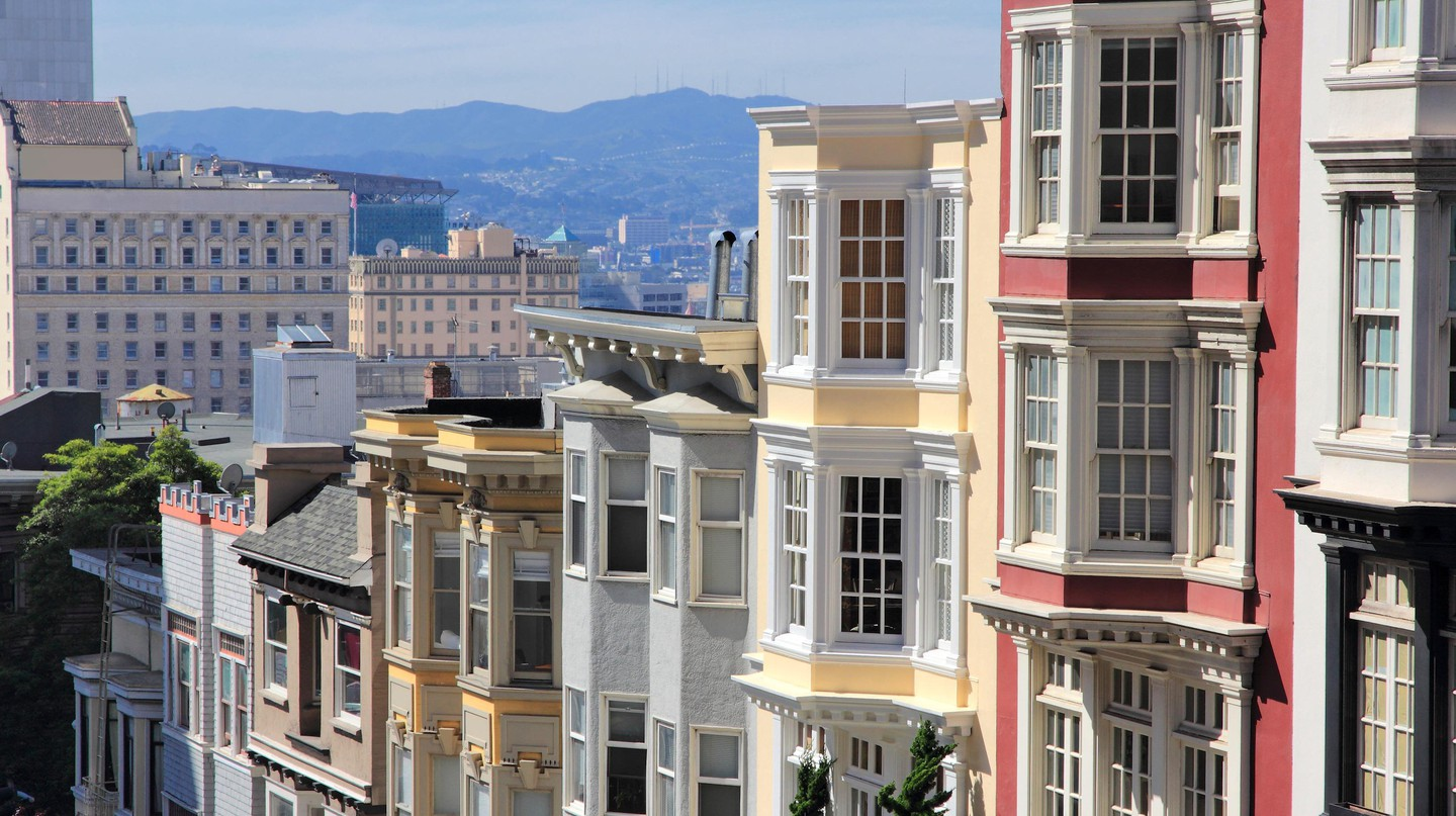 Nob Hill has long been home to old San Francisco money