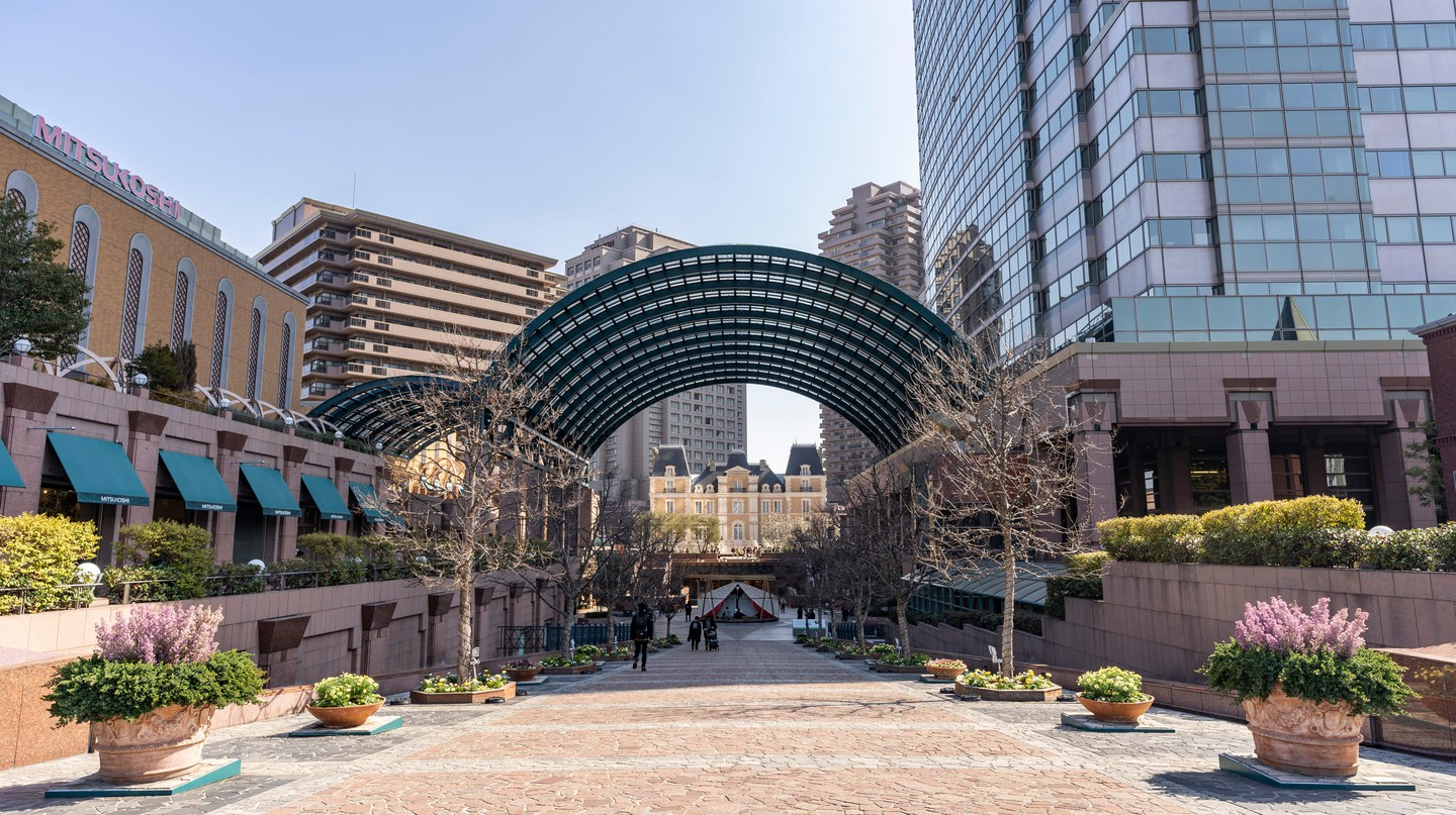 Yebisu Garden Place is a shopping, dining and entertainment complex