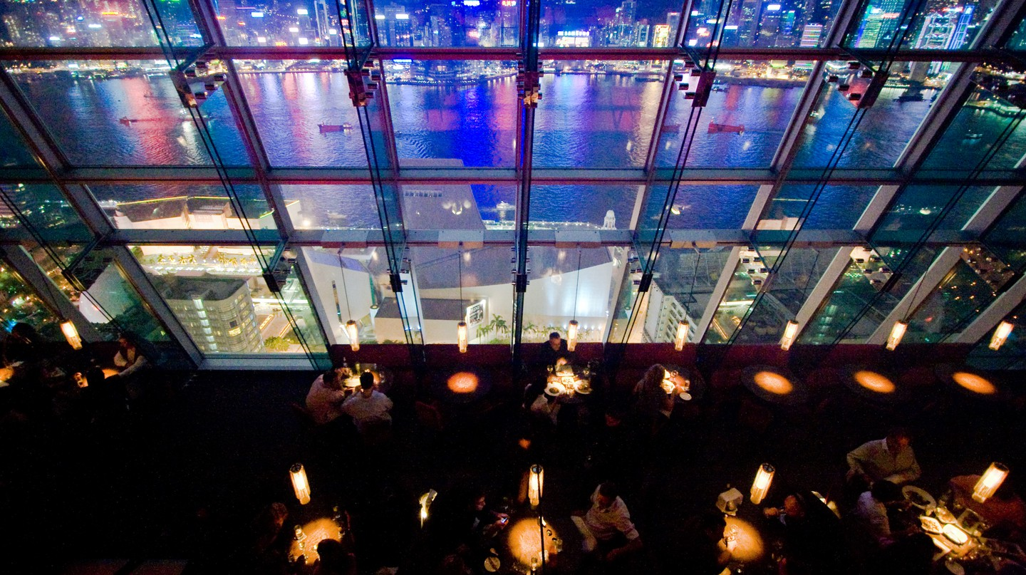 Hong Kong has a bustling bar scene