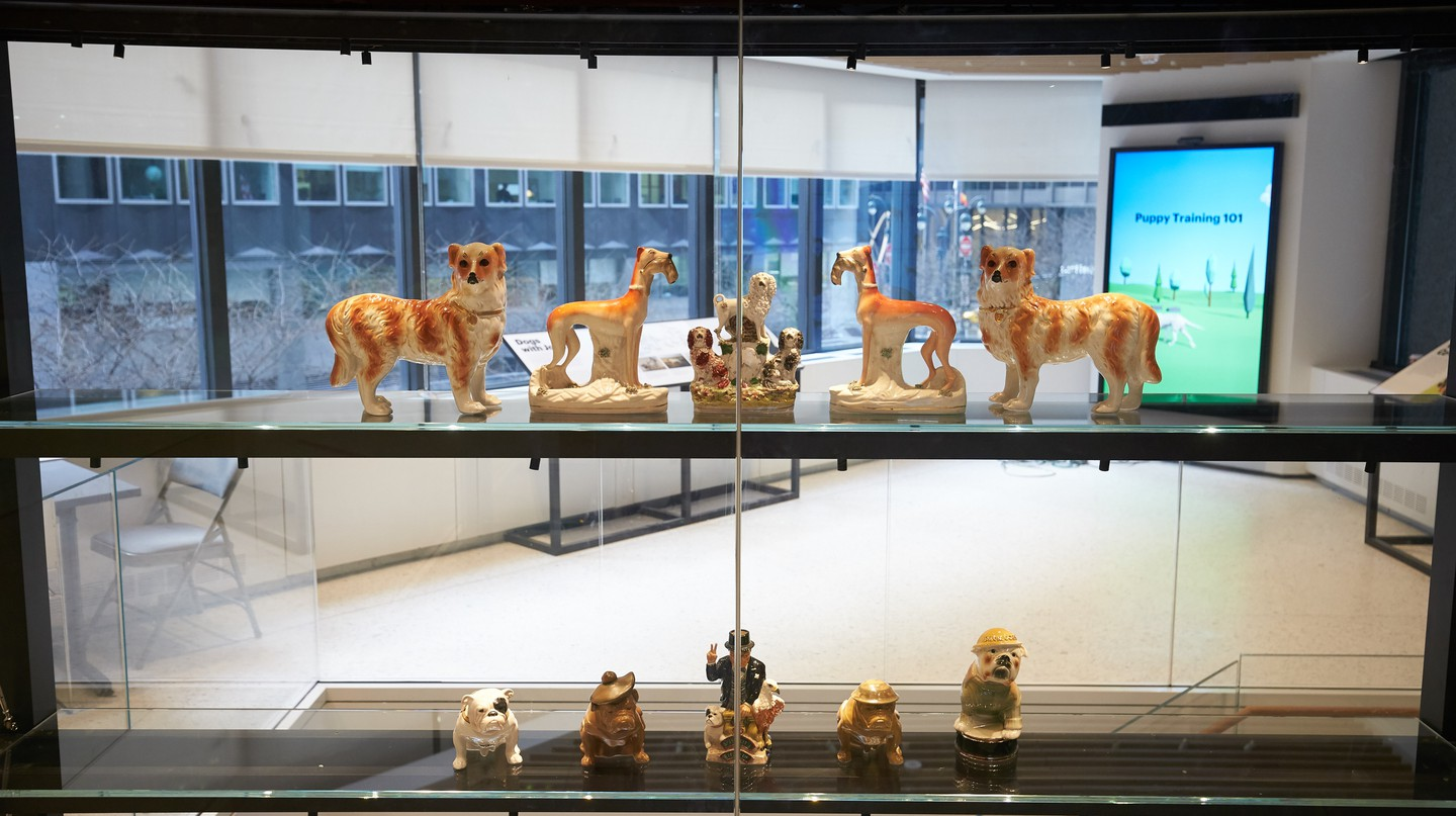 American Kennel Club (AKC) Museum of the Dog in Manhattan, New York, USA