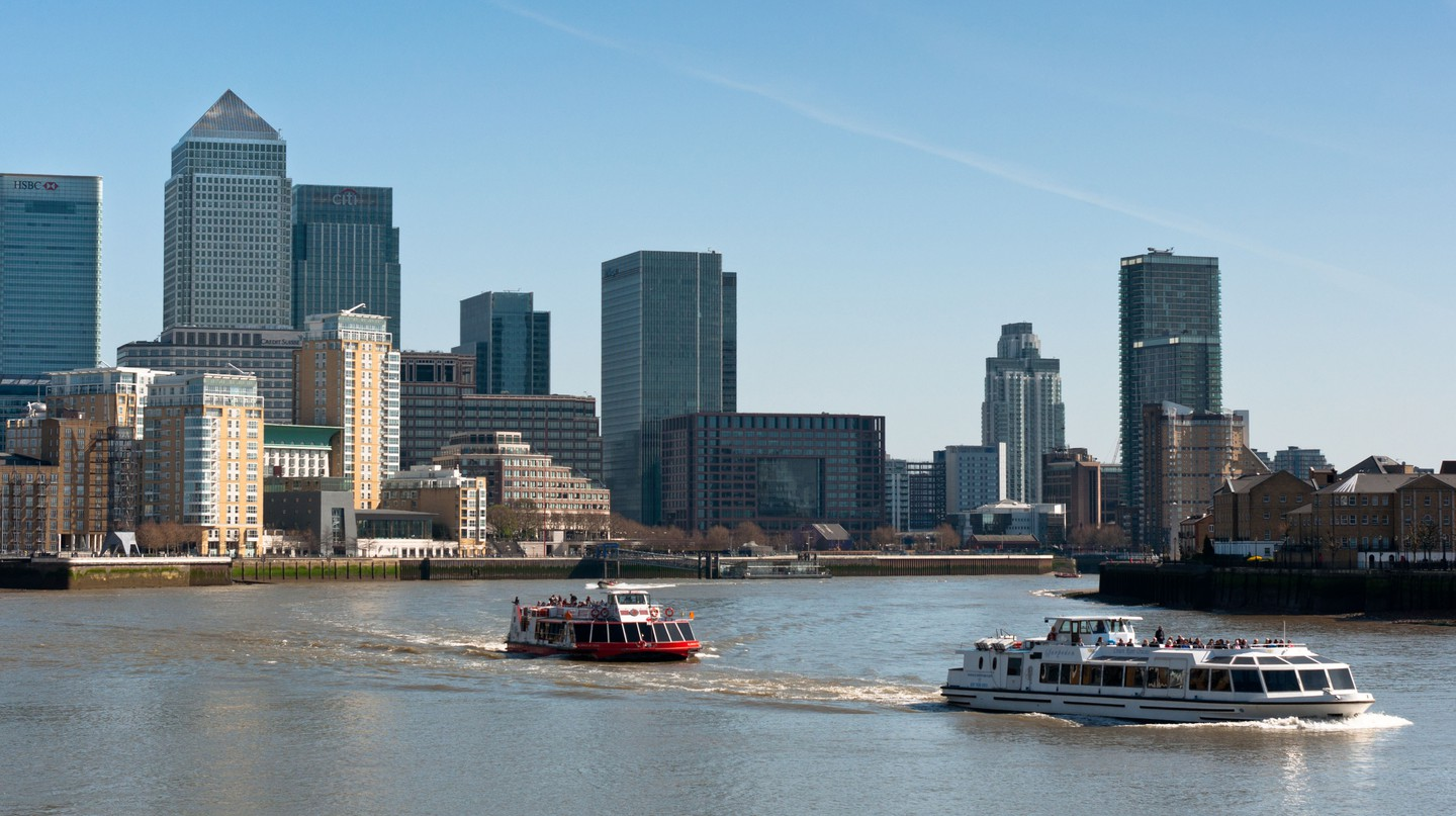 London's Canary Wharf offers visitors plenty of accommodation options