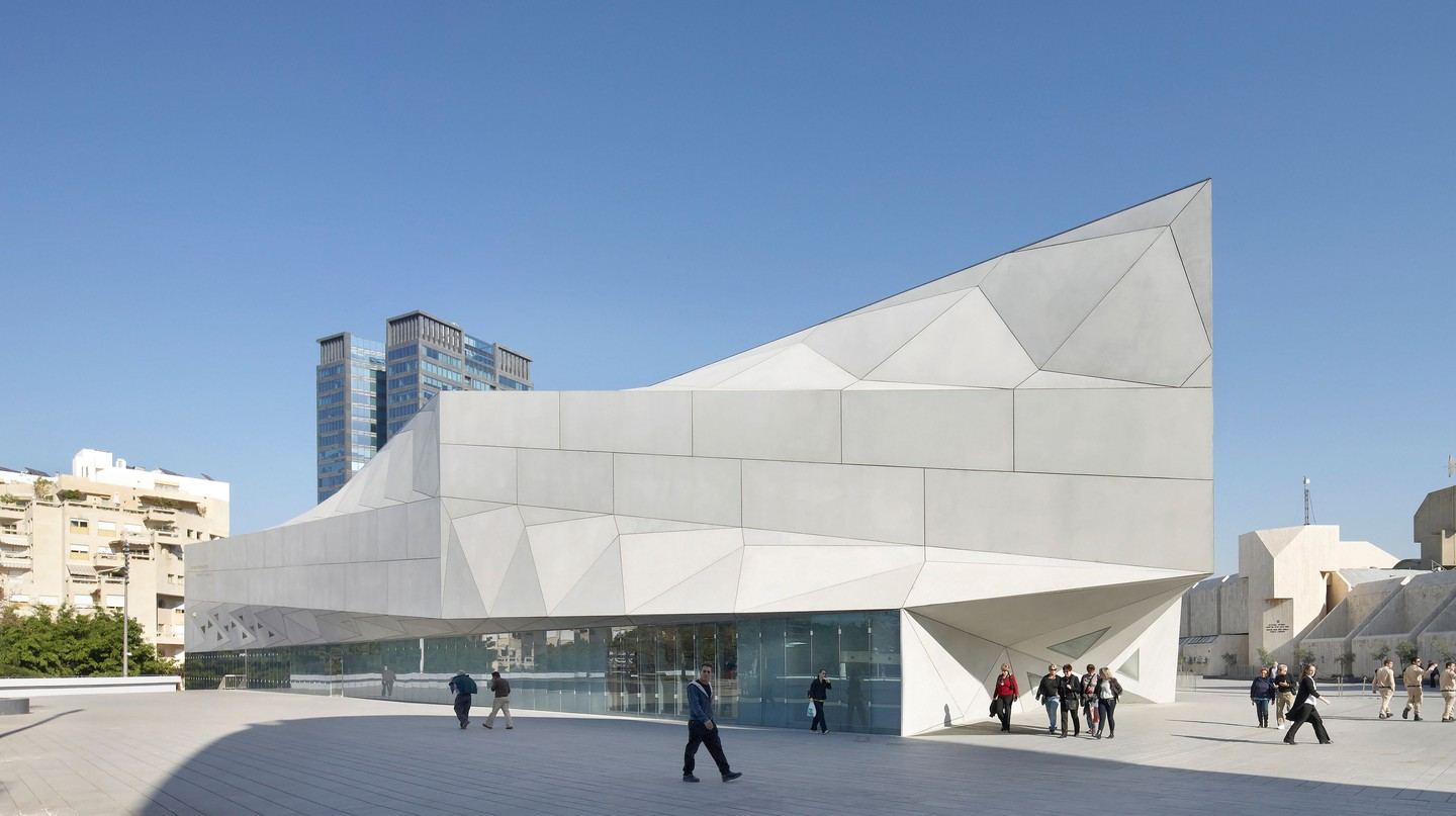 The Tel Aviv Museum of Art is a world-class institution