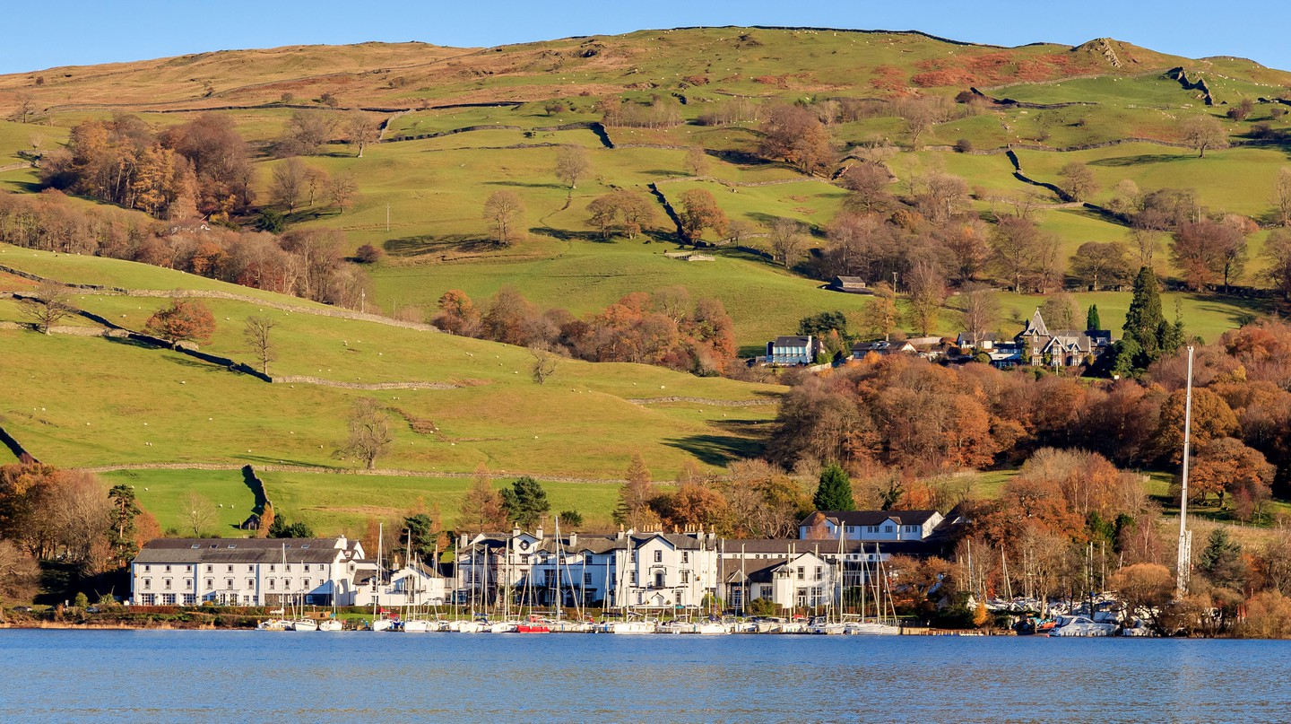 With its gorgeous views, the Lake District, England, is perfect for a luxurious getaway