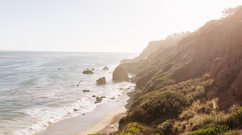 El Matador State Beach is a beautiful stretch of coast in Malibu, California