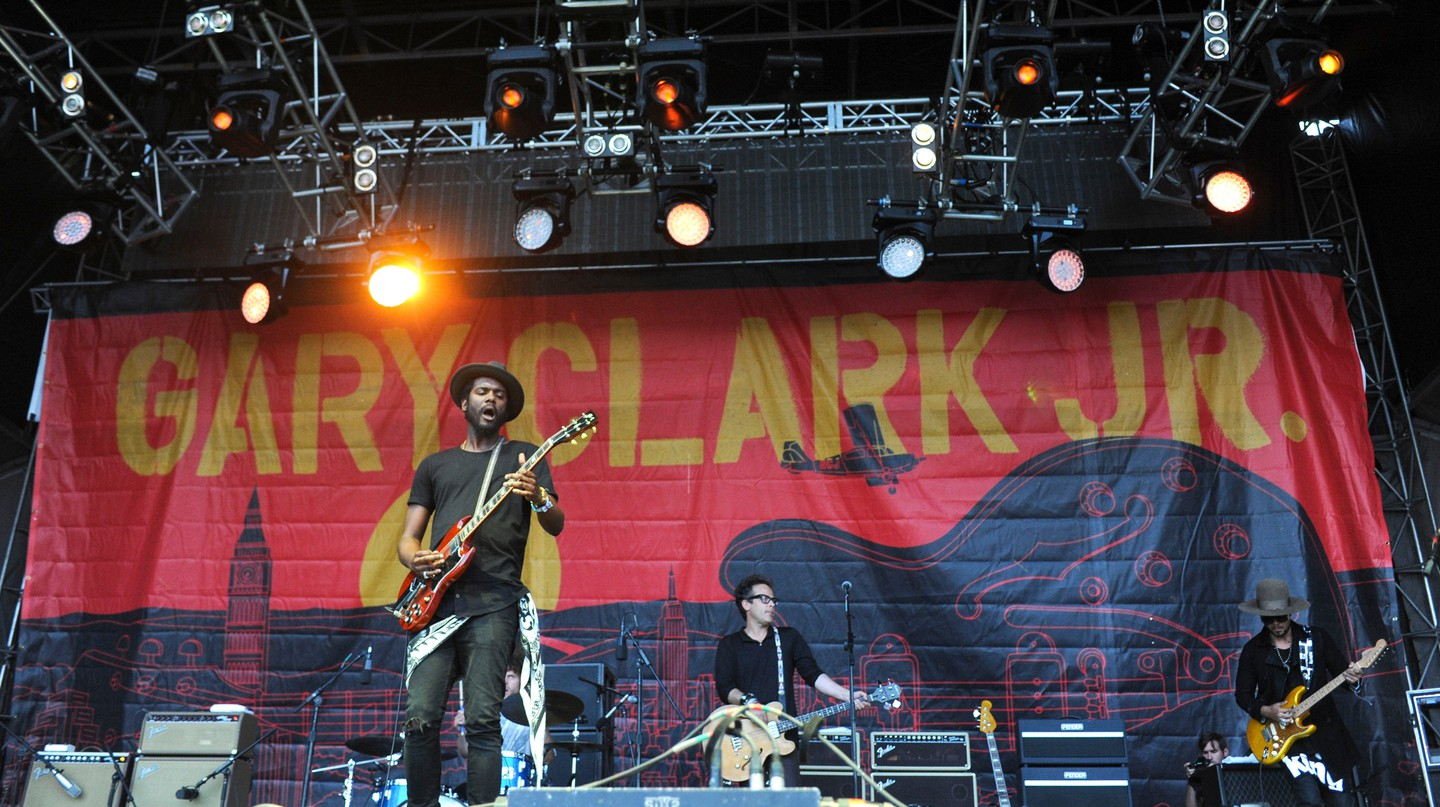 Gary Clark Jr performs at the Austin City Limits Music Festival in 2015