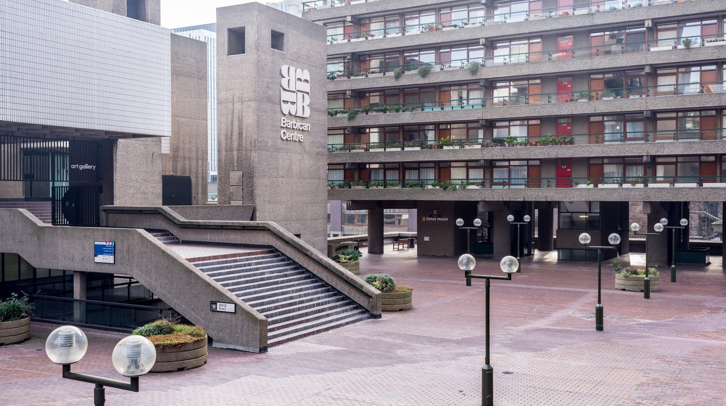 The Barbican Centre is a cultural hub in London's East End